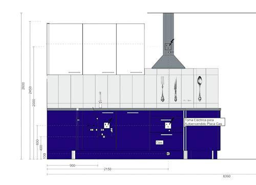 Kitchen tiles planning image