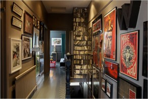 Make the most of your hallway: turn it into an art gallery